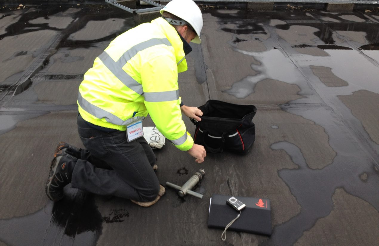 Contact us for a free roof site survey