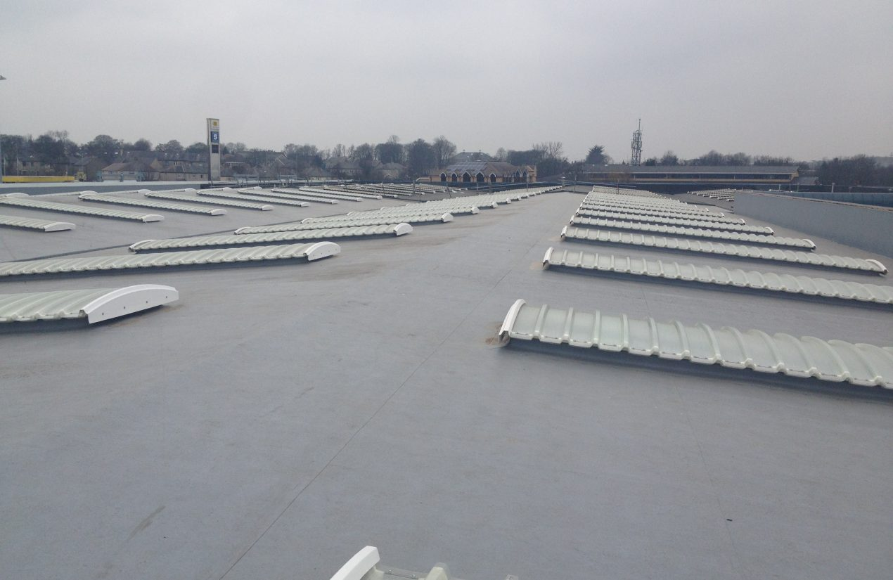 Single ply membrane roof systems